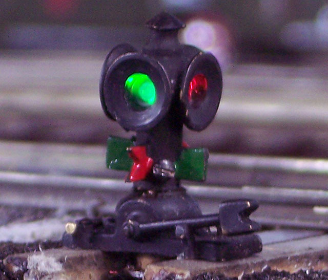 Tomar Illuminated Switch Stand Model Railroader Magazine